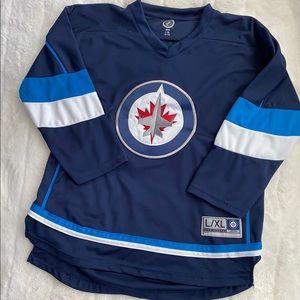 Winnipeg Jets Youth L/XL Jersey